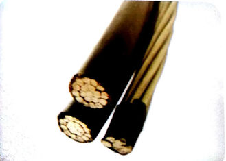Aluminum Conductor Overhead Insulated Cable , Service Drop Cable 2+1 Core