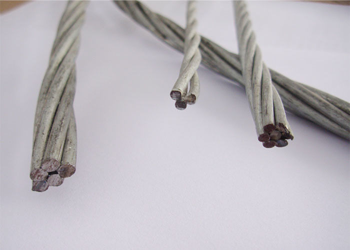 High Voltage Galvanized Stay Wire For The Cord Of ACSR / Staying The Poles
