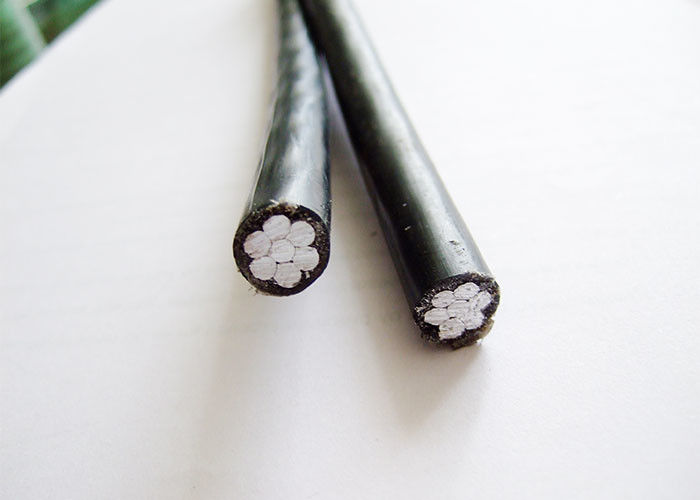 Aluminum Duplex Overhead Insulated Cable two core Secondary UD Conductor