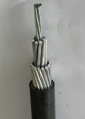 600V LLDPE Insulation AASC Conductor 1/0 AWG Covered Line Wire Cable Sun Resistant Overhead Cable