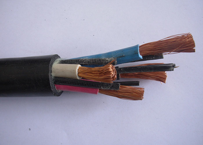 Cpe Sheath Rubber Mining Cable / EPR Insulated Cable Flame Retardant