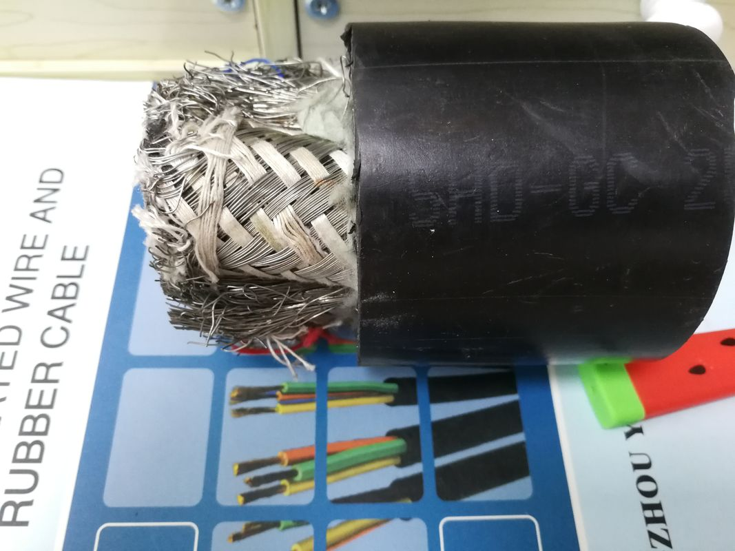 Type 5kV SHD-GC Trailing Rubber Insulated Cable For Mining 3/C 4AWG 2AWG