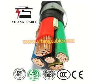 China 0.6/1kv Cu XLPE PVC Power Cable / XLPE Copper Cable For Construction factory