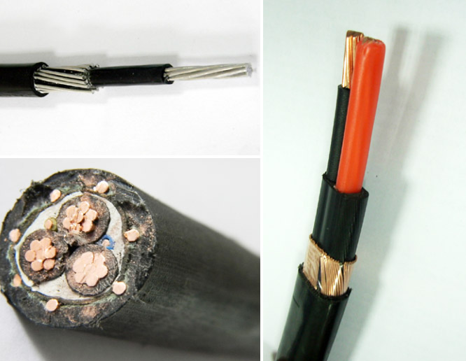 SEU Concentric Neutral Cable 600V Stranded Copper / Aluminum Conductor