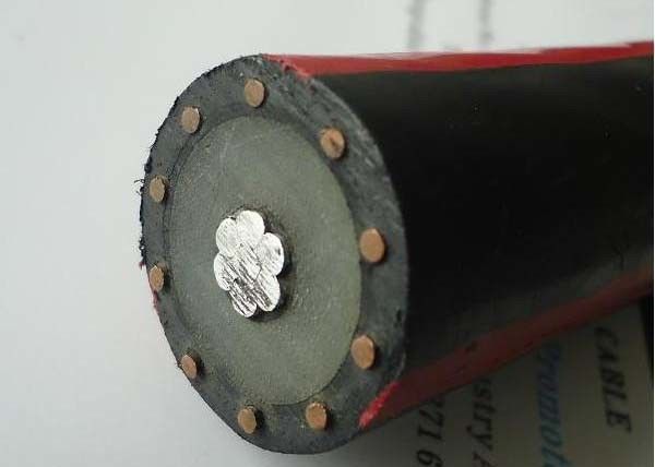 Concentric Medium Voltage Power Cables AL 100% XLPE TRXLPE 1/0 AWG Metallic Screen
